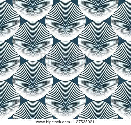Geometric stripy seamless pattern bright vector abstract background. Graphic symmetric ornament.