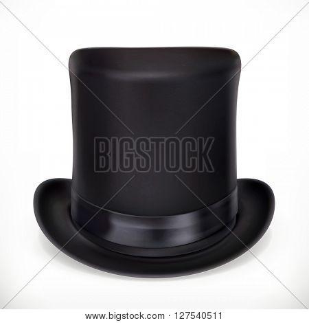 Top hat, vector icon