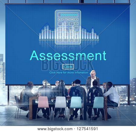 Assessment Audit Evaluation Control Management Concept
