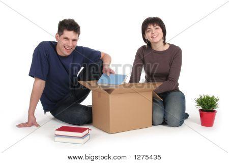 Cajas de par desempaquetado