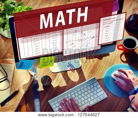 Math Mathematics Calculation Chart Concept
