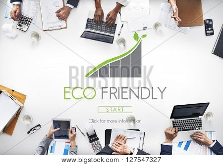 Eco Friendly Environmental Graphic Concept