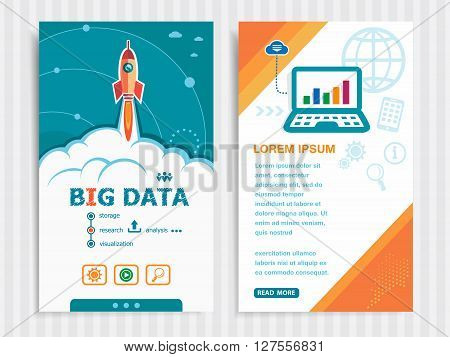 Project Big Data Concepts And Set Of Banners.