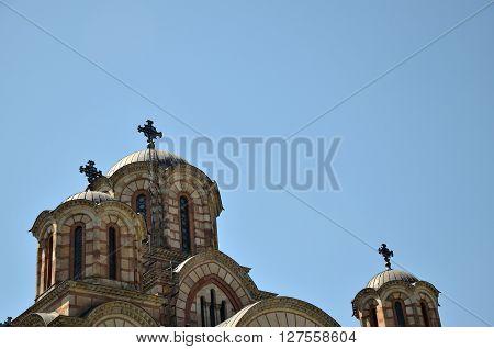 Crosses On Church