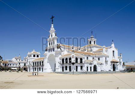 Hermitage Aldea del Rocio, Almonte, Huelva, Spain ** Note: Visible grain at 100%, best at smaller sizes