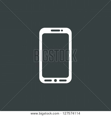 Cellphone Icon In Vector Format. Premium Quality Cellphone Symbol. Web Graphic Cellphone Sign On Dar