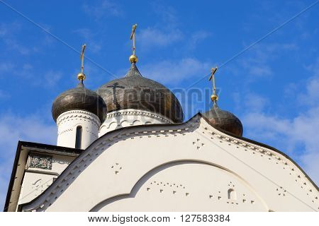 The Old Believers Church in St. Petersburg Russia.