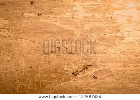 Vintage brown grunge background with scratches .