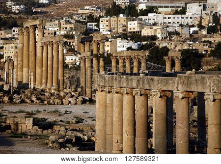 Asia Middle East Jordan Jerash