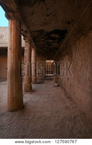 Archaeological Park Tombs Of The Kings