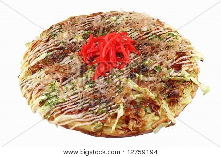 Okonomiyaki (Japanese Pancake / Pizza)
