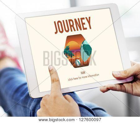 Journey Device Technology Internet Network Concept