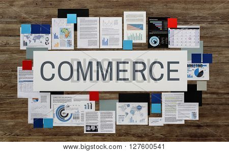 Commerce Consumerism Customer Service Store Concept