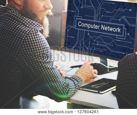 Computer Network Connection Server Ethernet Concept