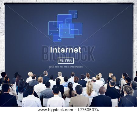 Business Meeting Internet Concept