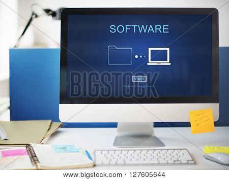 Software Application Hardware Development Digital Concept