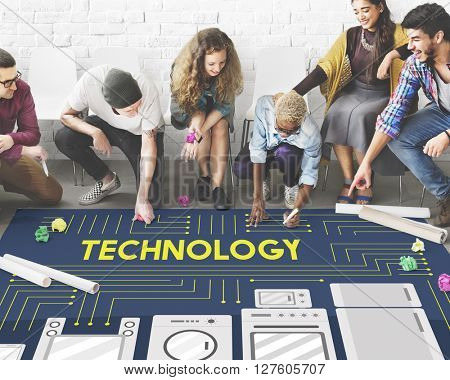 Technology Science Evolution Innovation Advanced Concept