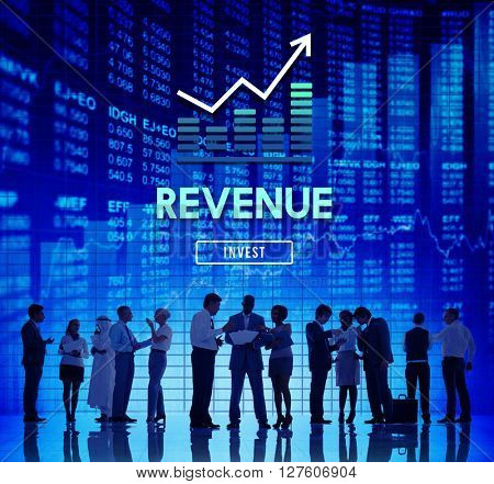 Revenue Economy Finance Accounting Concept