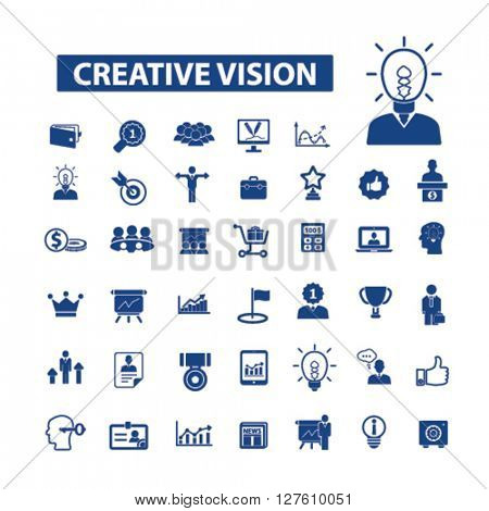 creative vision icons