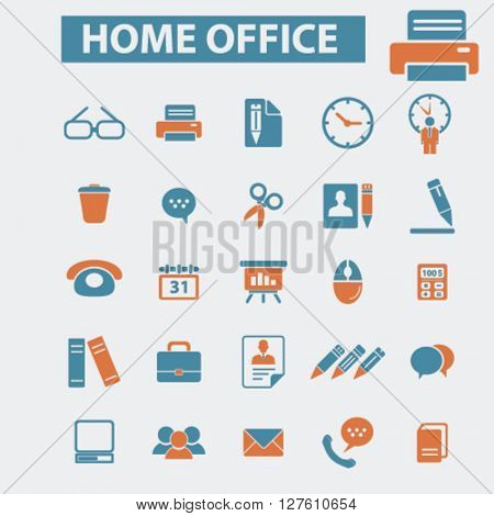 home office icons