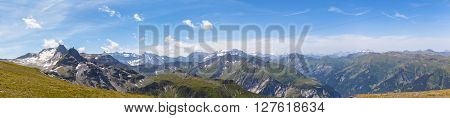 Panorama View Of Alps In Eastern Switzerland