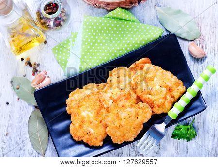Fried Chicken Cutlets