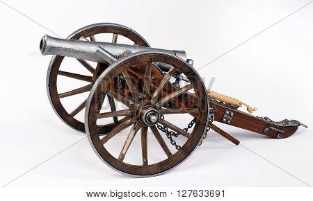 Model of a 1863 civil war  Dahlgren cannon.