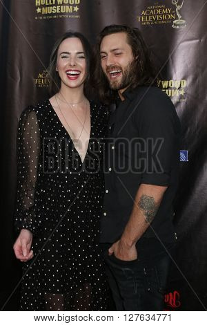LOS ANGELES - APR 27:  Ashleigh Brewer at the 2016 Daytime EMMY Awards Nominees Reception at the Hollywood Museum on April 27, 2016 in Los Angeles, CA