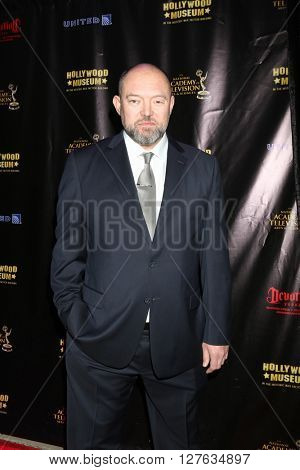 LOS ANGELES - APR 27:  Adam Leadbeater at the 2016 Daytime EMMY Awards Nominees Reception at the Hollywood Museum on April 27, 2016 in Los Angeles, CA