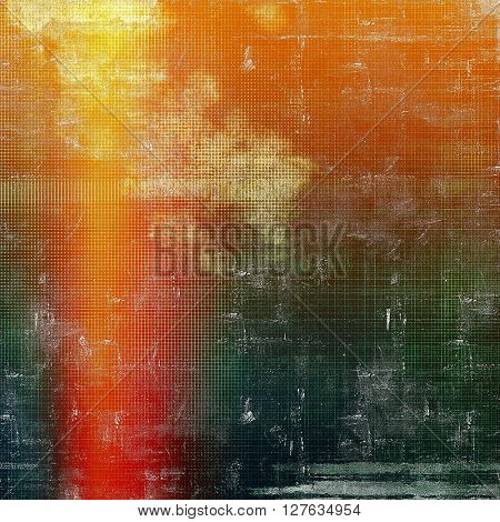 Elegant vintage background, antique texture. Designed grunge template with different color patterns: yellow (beige); brown; gray; green; red (orange); pink