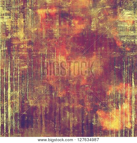Abstract vintage colored background. With different color patterns: yellow (beige); brown; gray; red (orange); purple (violet); pink