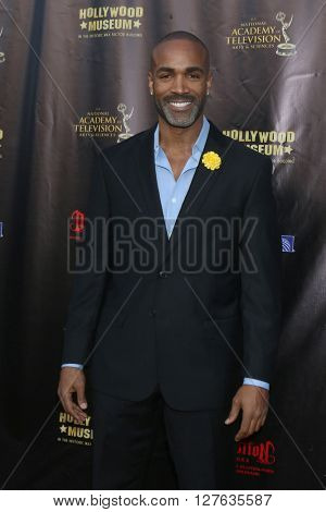 LOS ANGELES - APR 27:  Donnell Turner at the 2016 Daytime EMMY Awards Nominees Reception at the Hollywood Museum on April 27, 2016 in Los Angeles, CA