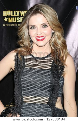 LOS ANGELES - APR 27:  Jen Lilley at the 2016 Daytime EMMY Awards Nominees Reception at the Hollywood Museum on April 27, 2016 in Los Angeles, CA