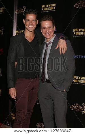 LOS ANGELES - APR 27:  Miles Gaston Villanueva, Christian LeBlanc at the 2016 Daytime EMMY Awards Nominees Reception at the Hollywood Museum on April 27, 2016 in Los Angeles, CA
