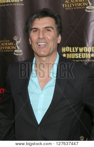 LOS ANGELES - APR 27:  Vincent Irizarry at the 2016 Daytime EMMY Awards Nominees Reception at the Hollywood Museum on April 27, 2016 in Los Angeles, CA