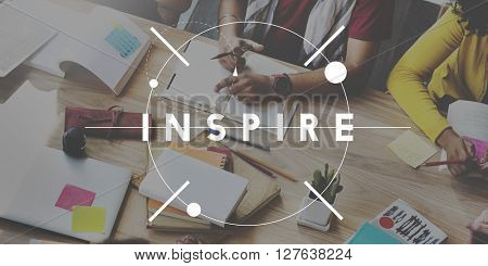 Inspire Creative Aspiration Expectations Hopeful Concept