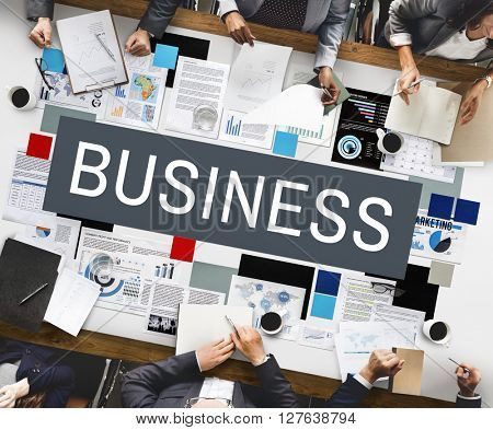 Business Commercial Corporate Enterprise Firm Concept