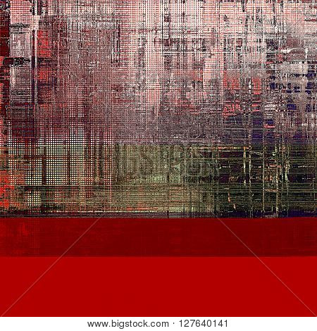 Art graphic texture for grunge abstract background. Aged colorful backdrop with different color patterns: brown; gray; red (orange); purple (violet); pink; white