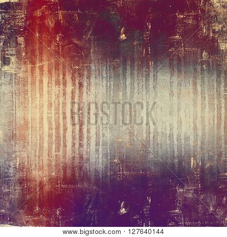 Stylish grunge texture, old damaged background. With different color patterns: brown; gray; red (orange); purple (violet); pink; cyan