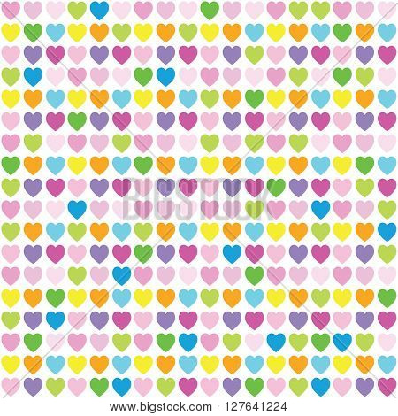 Heart seamless pattern - Design element