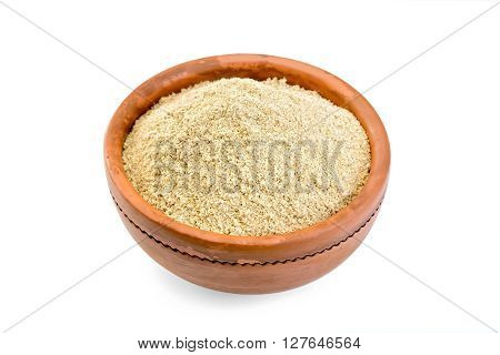 Flour Sesame In Bowl