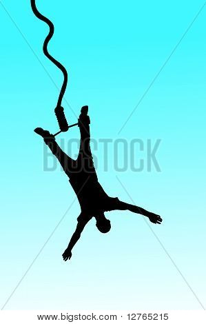 vector bungee jumping