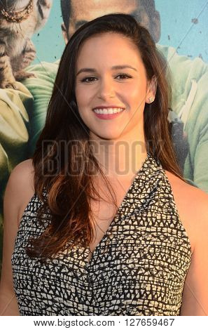 LOS ANGELES - APR 21:  Melissa Fumero at the Keanu Los Angeles Premiere at the ArcLight Hollywood Theaters on April 21, 2016 in Los Angeles, CA