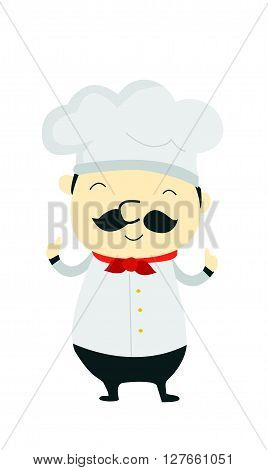 Chef taste .eps10 editable vector illustration design