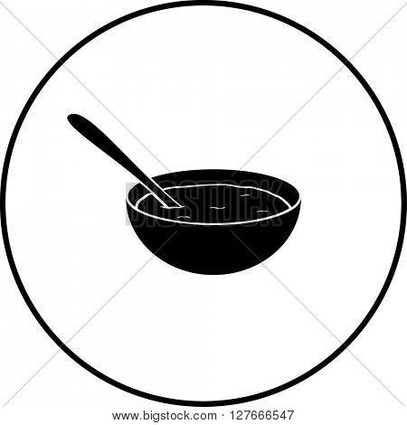oatmeal bowl symbol
