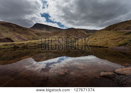 Llyn y Fan Fach Reflection