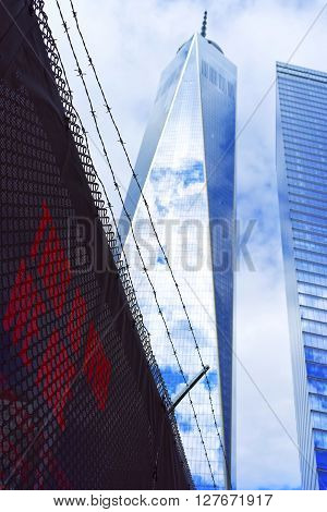 One World Trade Center And Phrase