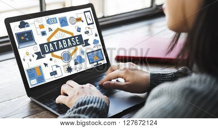 Database Information Server Storage Technology Concept