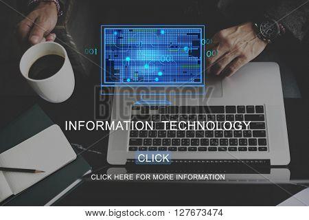 Information Technology Computing Data Digital Concept