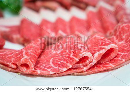 Raw fresh  beef